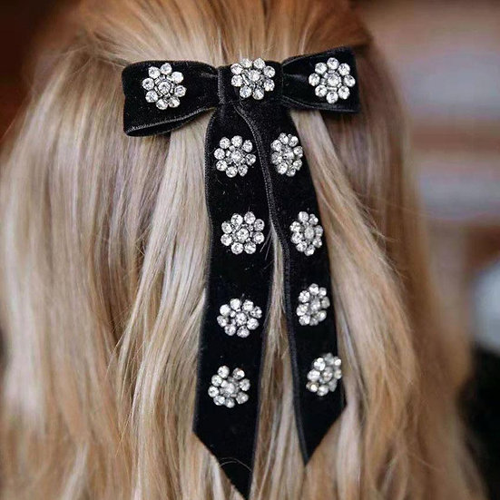 So Jewelled Hair Bow