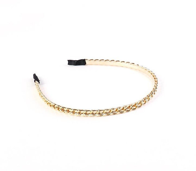 So Chained- Chain Link Headband