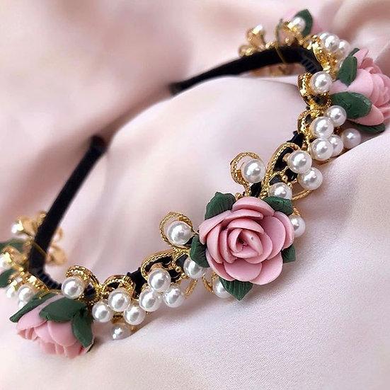 So Dolce- Mini Flora Headband