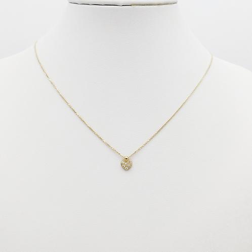 Halskette 14 Kt Gelbgold mit Zirkonia