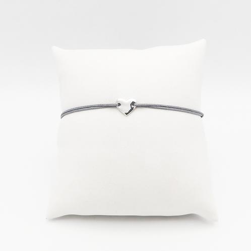 Armband mit Herzchen in Silber