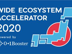 関東経済産業局 x 01Booster主催「Wide Ecosystem Accelerator - 広域連携アクセラレーター2020」に採択決定
