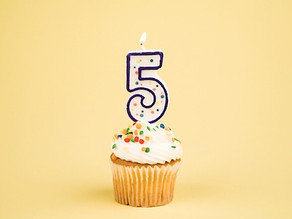 デジロウは設立5周年を迎えました