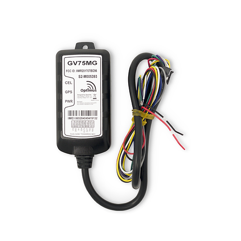 GV75 Waterproof Wired GPS Tracker for Motorcycles, Boats, Machinery, Assets