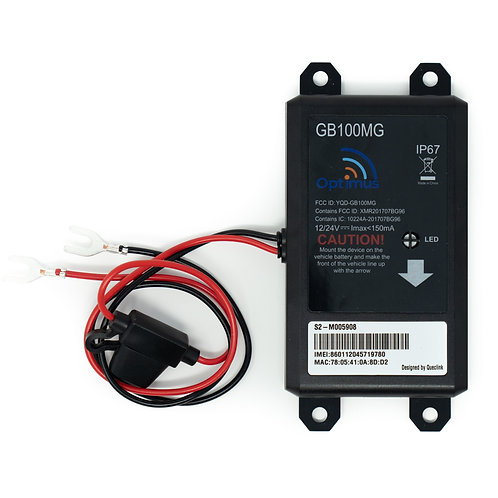 GB100M Easy Install Directly on Car's Battery GPS Tracker