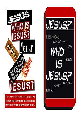 Cover for Who is Jesus