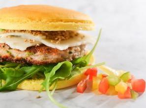Burger Keto Crunchy