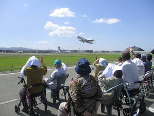 飛行機を見に行ってきました(^O^)