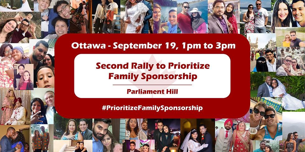 Ottawa Rally to Prioritize Family Sponsorship