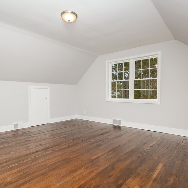room remodel with grey tone walls