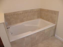 remodeled bathtub