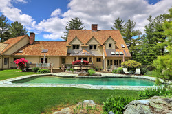 3200 sq ft. colonial house remodel with pool
