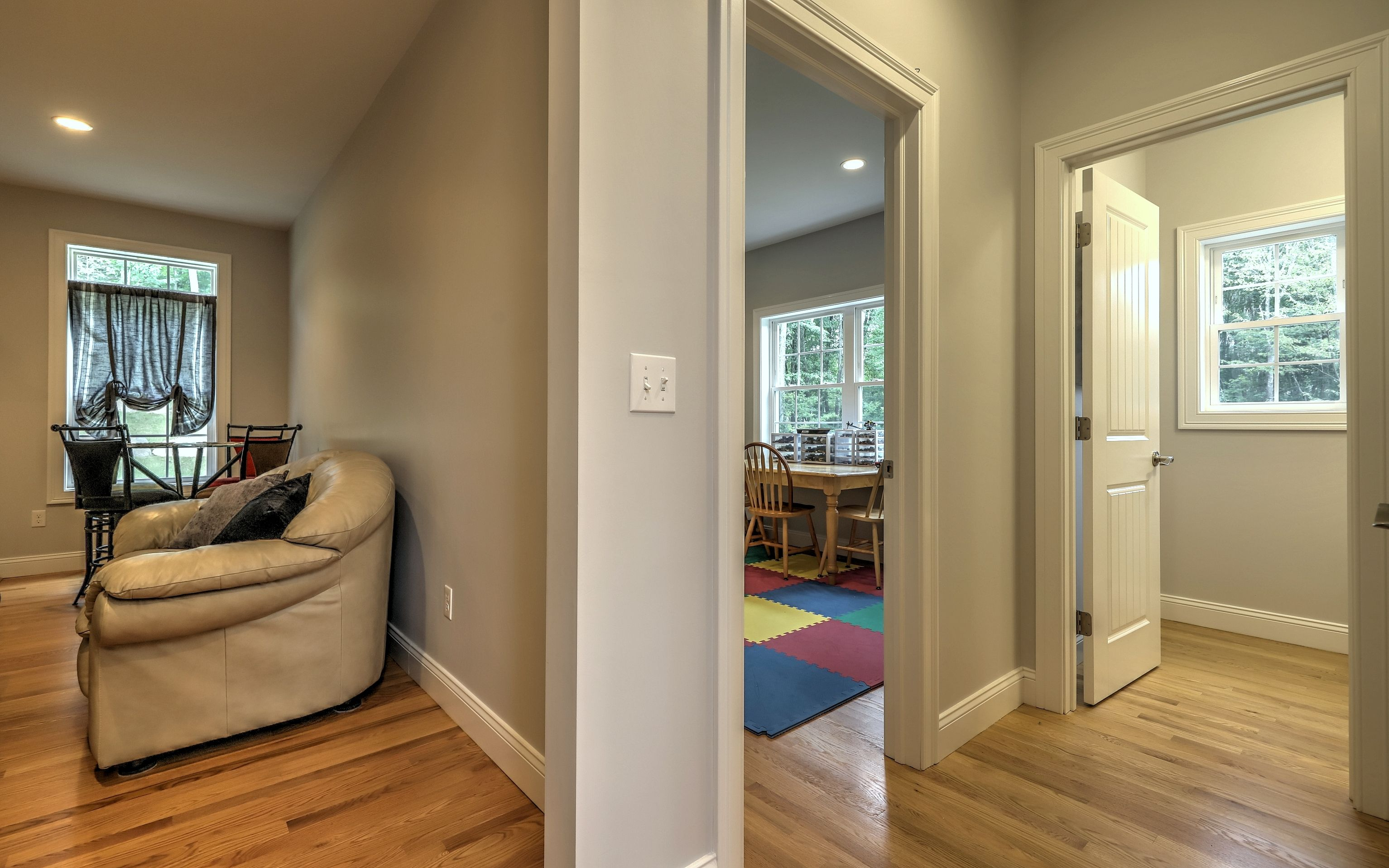 3800 sq ft. colonial house interior