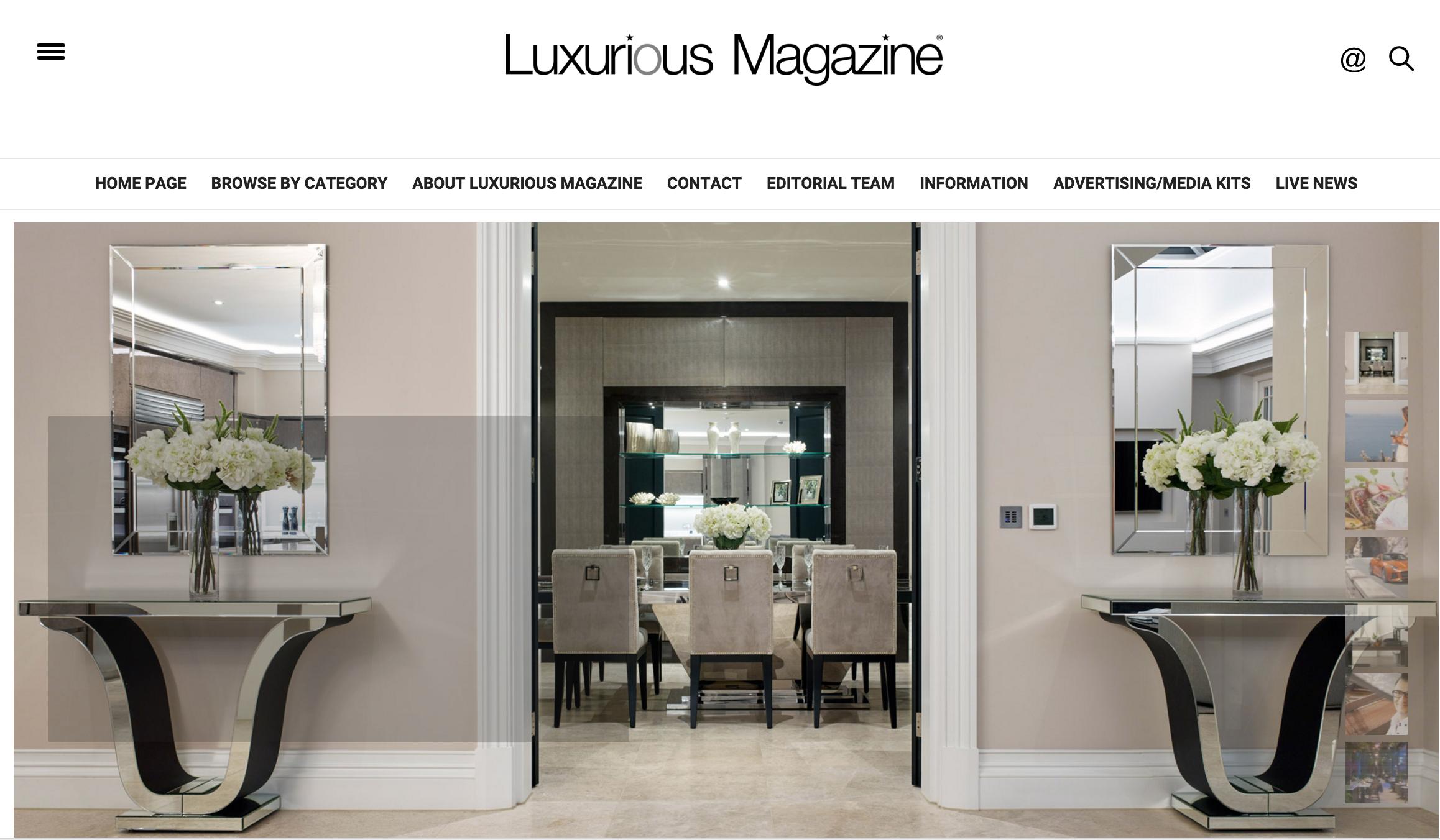 Luxurious Magazine Art of Accessorie