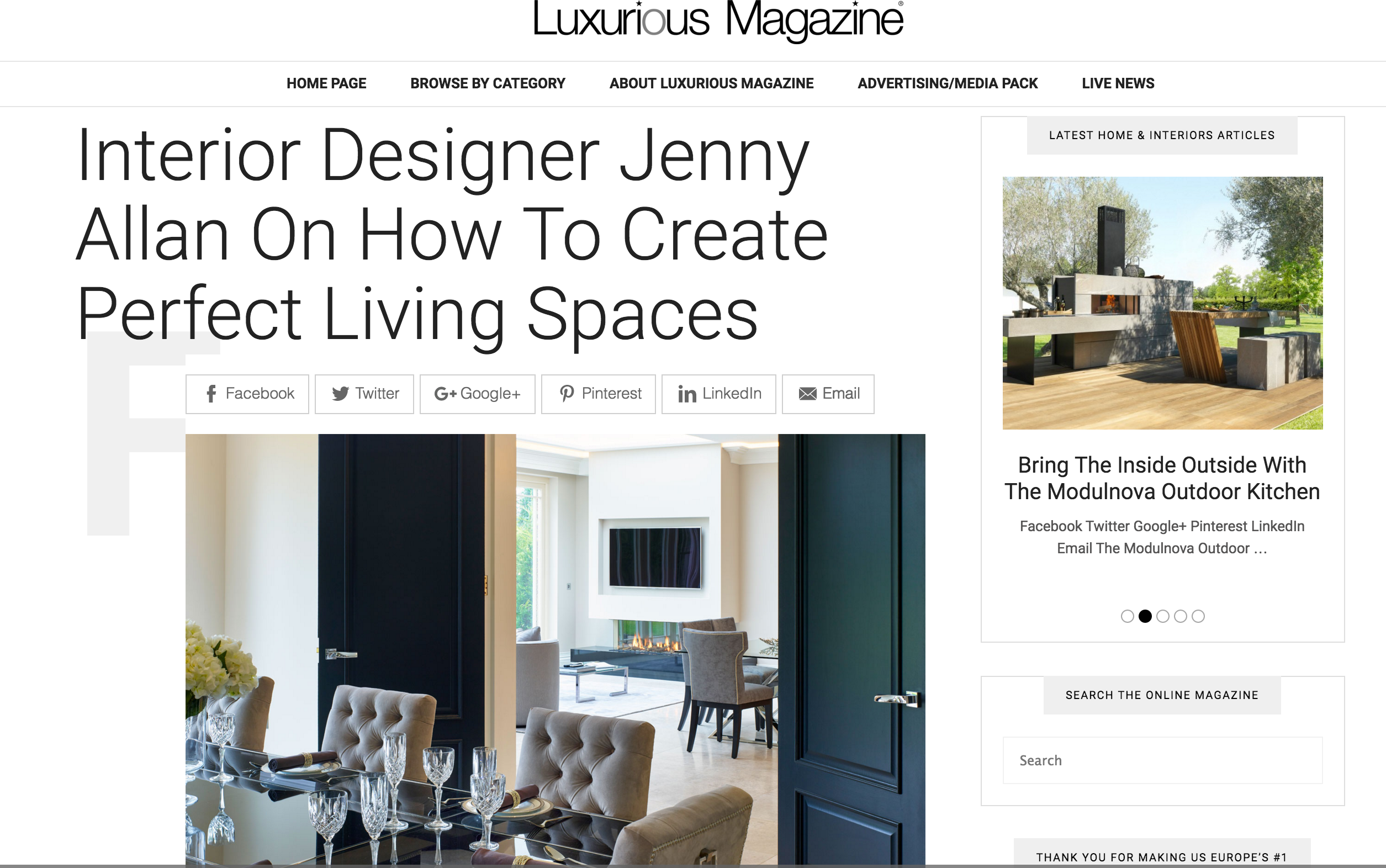 Creating Perfect Living Spaces