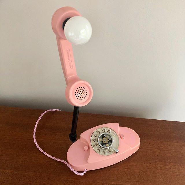 The Petite Princess Pink Rotary phone ma