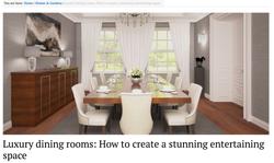 Luxury Dining rooms