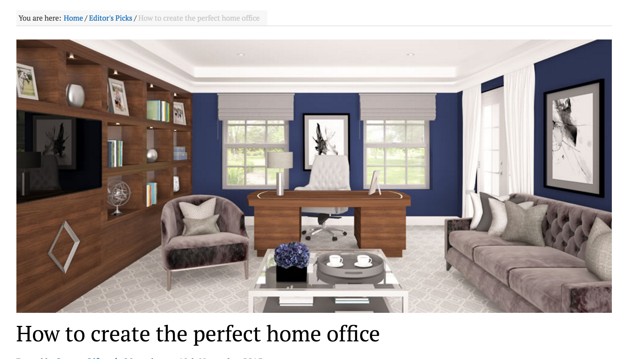 The Perfect Home Office