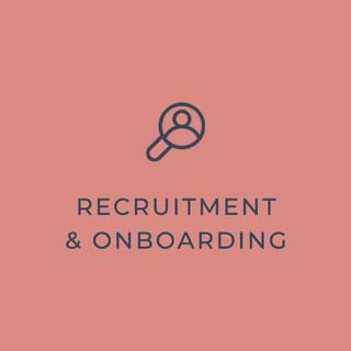 Recruitment & Onboarding