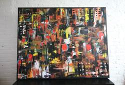 brownstoned (2014) 48x60 acrylic & spraypaint.JPG