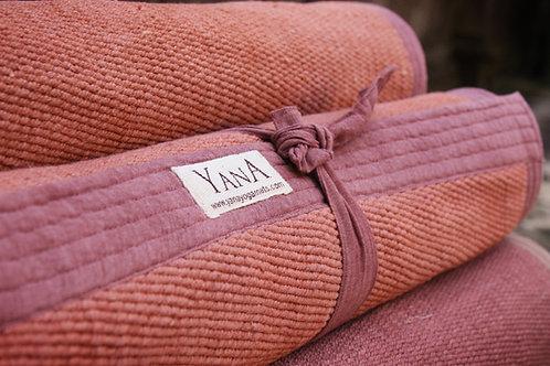 Organic Cotton Yoga Mat Brown