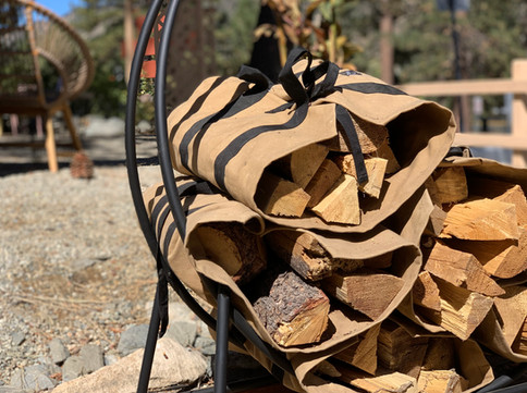 Firewood Outdoors - Grand Pine Cabins Wrightwood Hotel