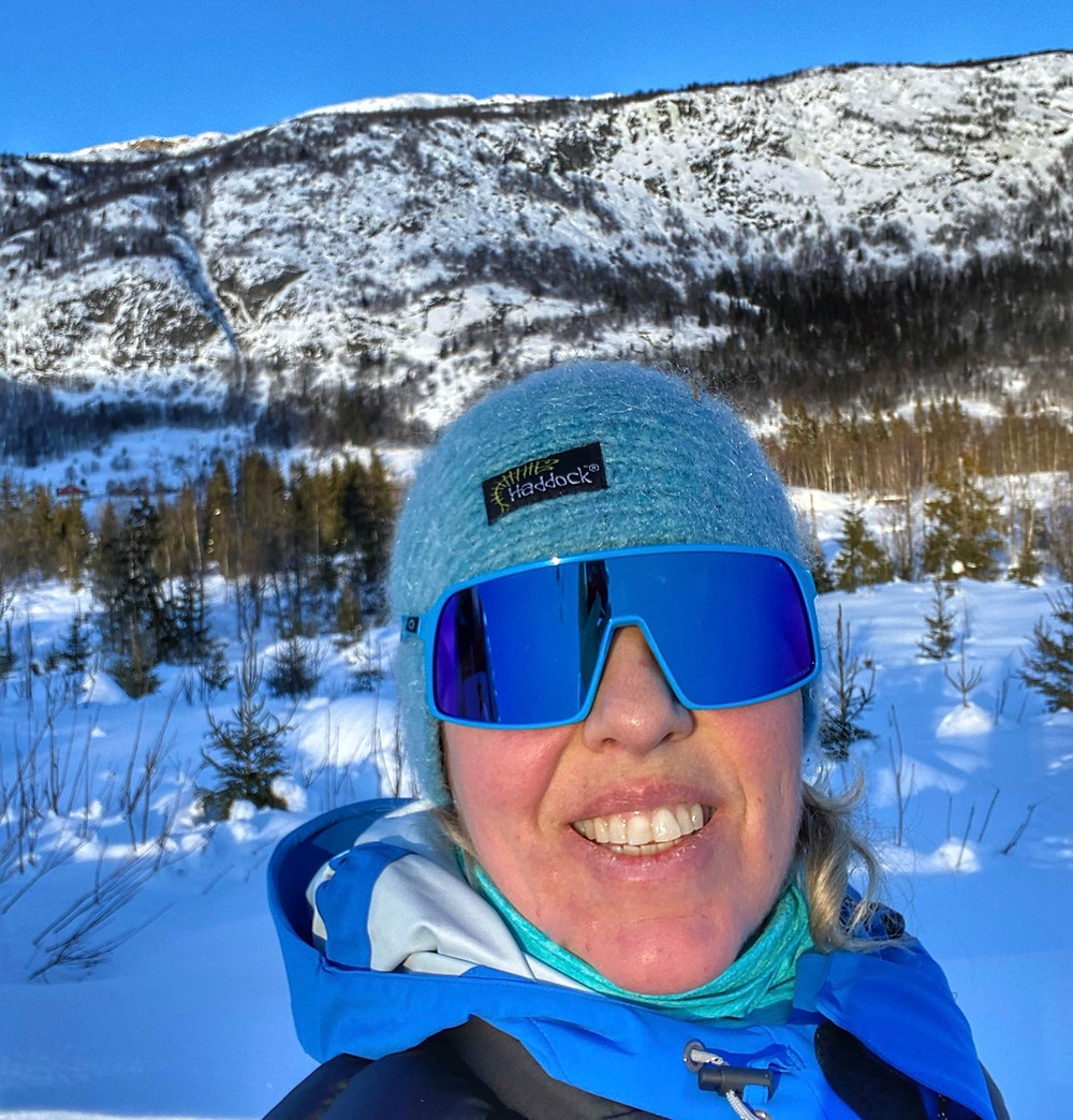 Siv Harstad out preparing for the North Pole