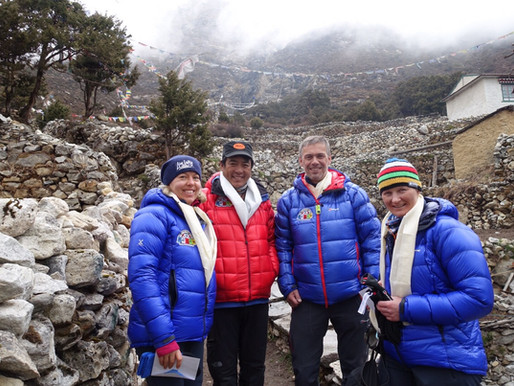 (Lørdag 18. april) Pangboche – aklimatisering Base Camp Ama Dablam