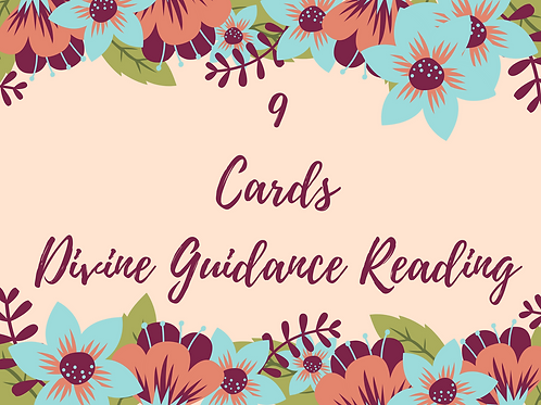 9 Cards Divine Guidance Reading