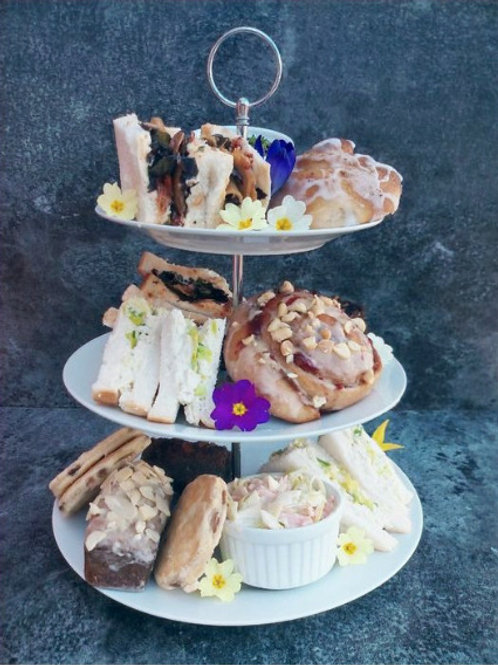 Sumptuous afternoon tea