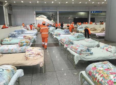 """อู่ฮั่นสร้าง """"Square cabin-style hospitals"""" แก้ปัญหาขาดแคลนเตียงนอนสำหรับผู้ป่วยไวรัสโคโรน่า"""