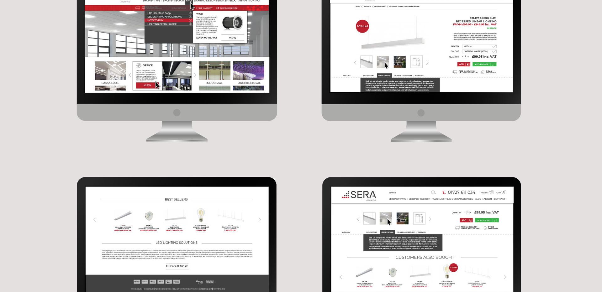 UI/UX design.