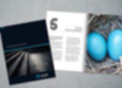 Lifetime connect brochure design