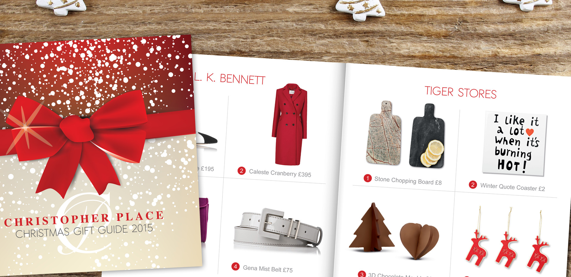 Gift guide booklet