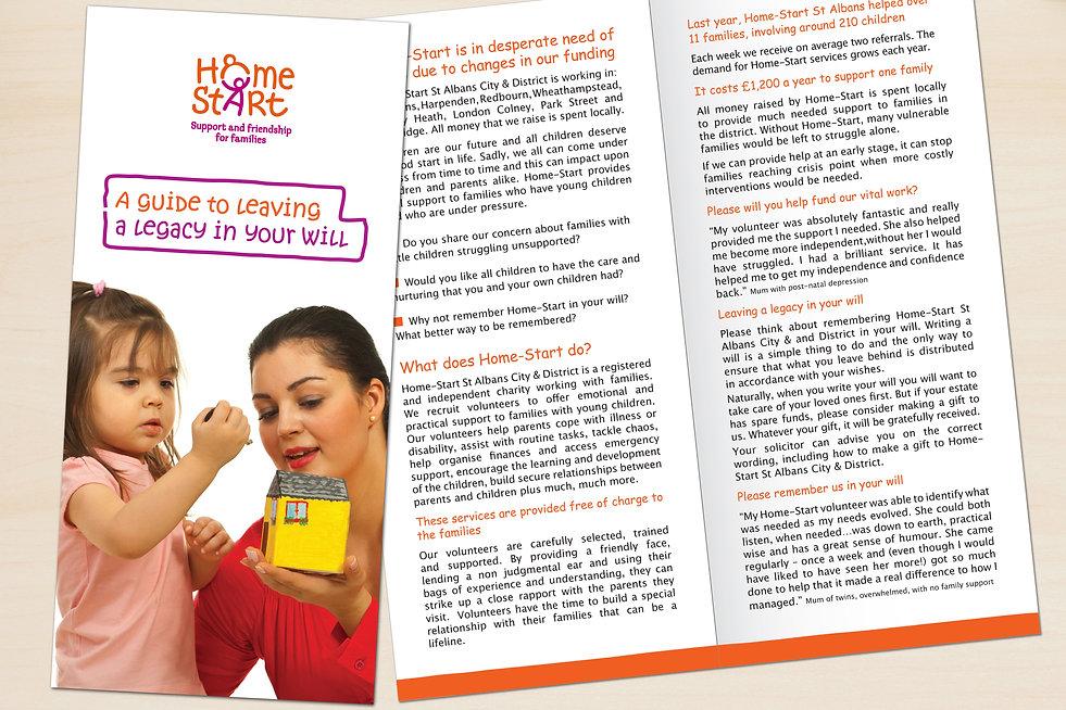 Home Start leaflet