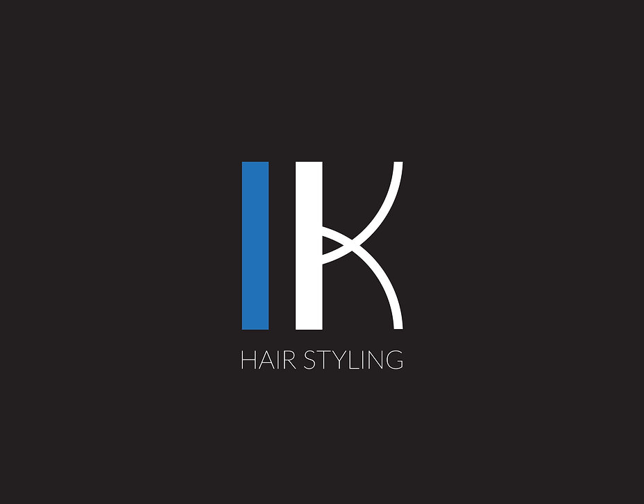 L K Hair Styling logo
