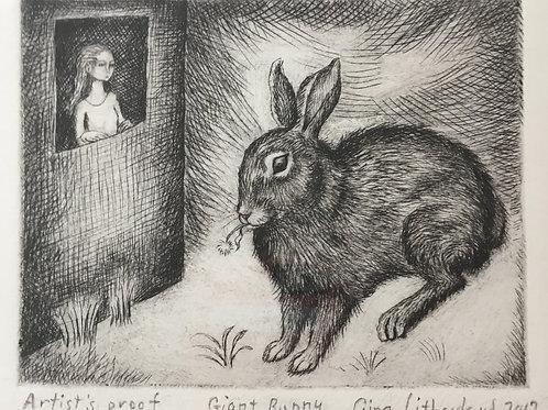 Gina Litherland - Giant Bunny