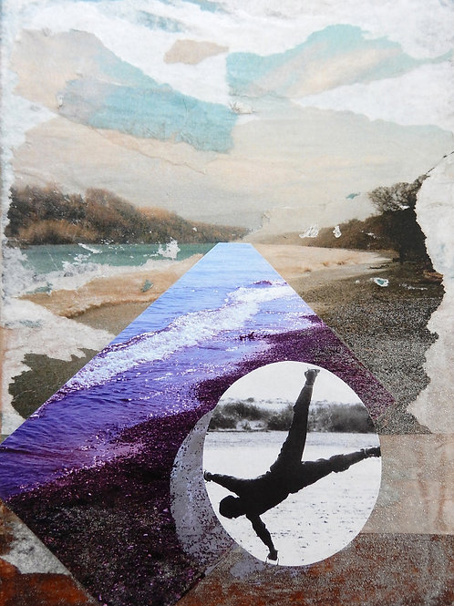 Nicole Shaver - Six Feet Around, a Beach Performance