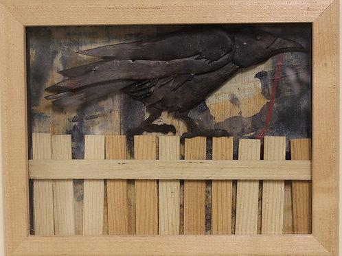 Chris Hewitt - Bird on Fence