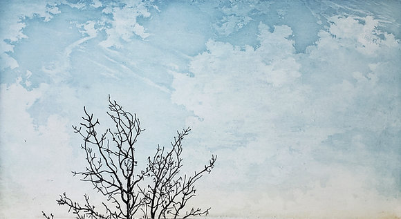 Fellenz Tree with Cloud II