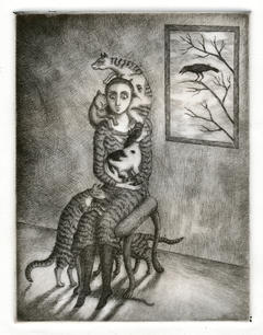 """A Woman Too Fond of Cats"""