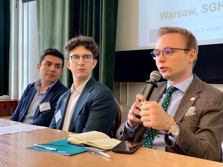 O Agendzie 2030 i umiejętnościach miękkich podczas konferencji DASCHE project na SGH w Warszawie