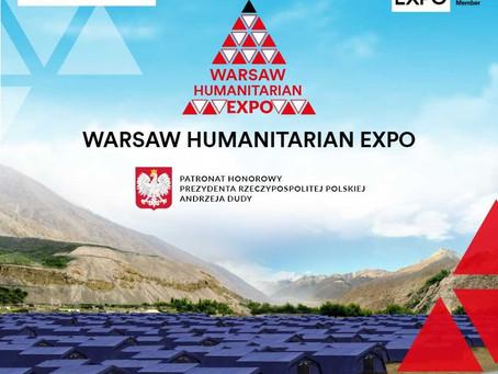 UNA Poland na Warsaw Humanitarian Expo 2019