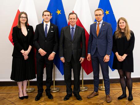 Spotkanie z Marszałkiem Senatu prof. Tomaszem Grodzkim