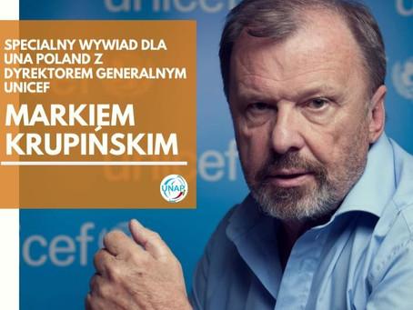 Wywiad z Dyrektorem Generalnym UNICEF Polska