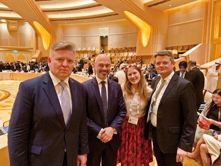 Członkini UNAP w Abu Dhabi na konferencji poświęconej zmianom klimatycznym