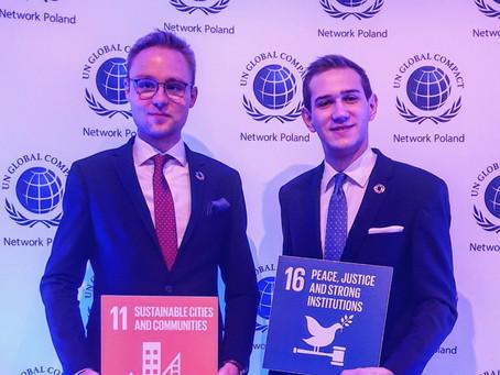 Obchody UN Day podczas uroczystej gali zorganizowanej przez Global Compact Network Poland