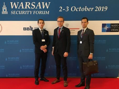 UNAP na Warsaw Security Forum 2019