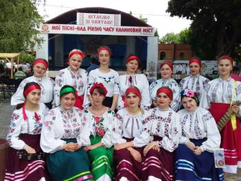 Народні колективи коледжу відвідали етнофестиваль у Тульчині