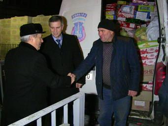 Солодощі учасникам АТО до Дня Святого Миколая